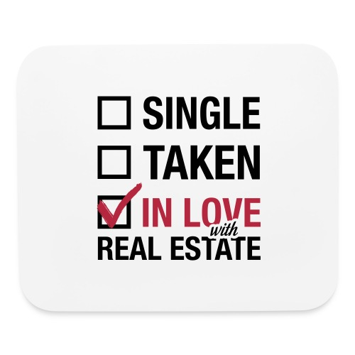 Single Taken In Love Mousepad - Mouse pad Horizontal