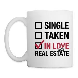 Single Taken In Love Wht Right - Coffee/Tea Mug