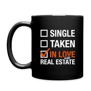 Single Taken In Love Blk Right - Full Color Mug