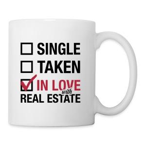 Single Taken In Love Wht Left - Coffee/Tea Mug