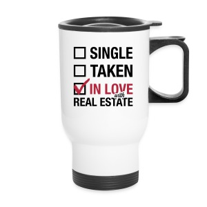 Single Taken In Love Travel mug - Travel Mug