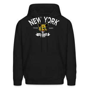 M New York Lion Hood - Men's Hoodie
