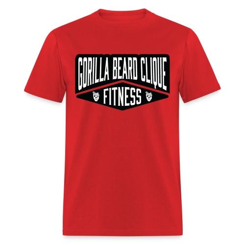 Gorilla Beard Clique Fitness! - Men's T-Shirt