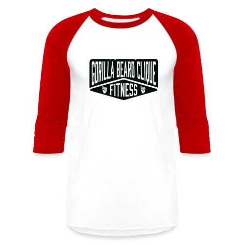 Gorilla Beard Clique Fitness! - Baseball T-Shirt