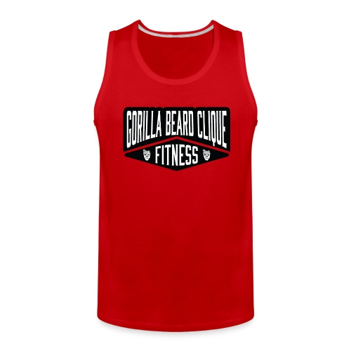 Gorilla Beard Clique Fitness! - Men's Premium Tank