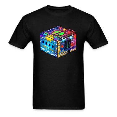 hippie gamecube t shirts t shirt spreadshirt. Black Bedroom Furniture Sets. Home Design Ideas