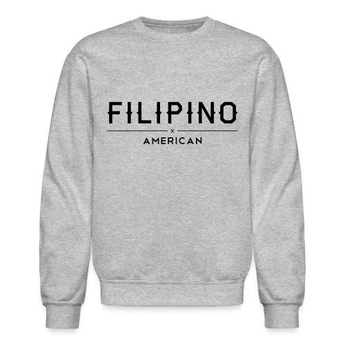 Filipino American Crewneck Sweatshirt  - Crewneck Sweatshirt