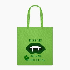 Kiss Me For Some Irish Luck Tote Bag