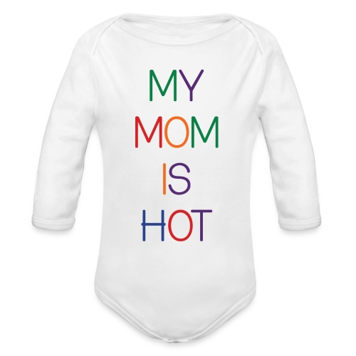 Organic Long Sleeve Baby Bodysuit