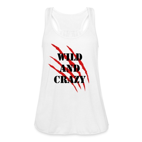 Wild and crazy - Women's Flowy Tank Top by Bella