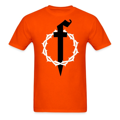 Crown of Thorns Orange - Men's T-Shirt