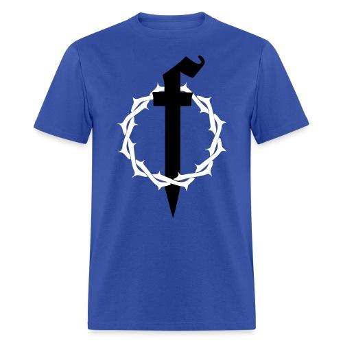 Crown of Thorns Blue - Men's T-Shirt