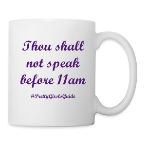 Morning Commandments Purple - Coffee/Tea Mug