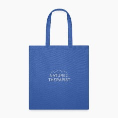 Nature is my therapist in light grey Bags & backpacks