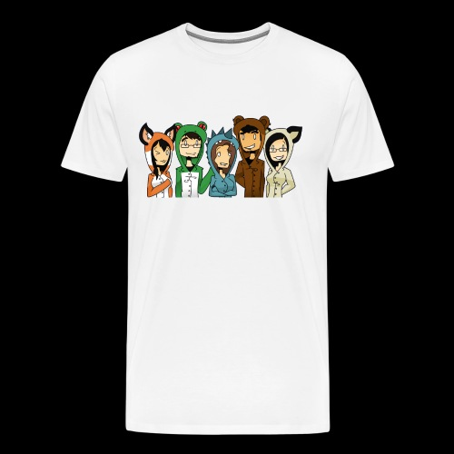 Kigurumi Love - M - Men's Premium T-Shirt