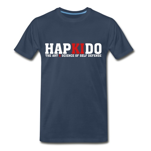 Mens hapkido The Art & Science of Self Defense T-Shirt - Men's Premium T-Shirt