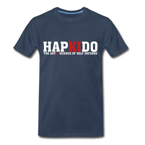 Mens hapkido The Art & Science of Self Defense T-Shirt - Men's Premium T-Shirt