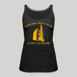 Cornish Last Longer - Women's Premium Tank Top