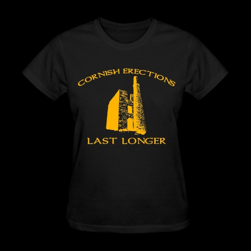 Cornish Last Longer - Women's T-Shirt