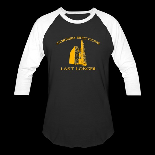 Cornish Last Longer - Baseball T-Shirt