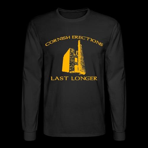 Cornish Last Longer - Men's Long Sleeve T-Shirt