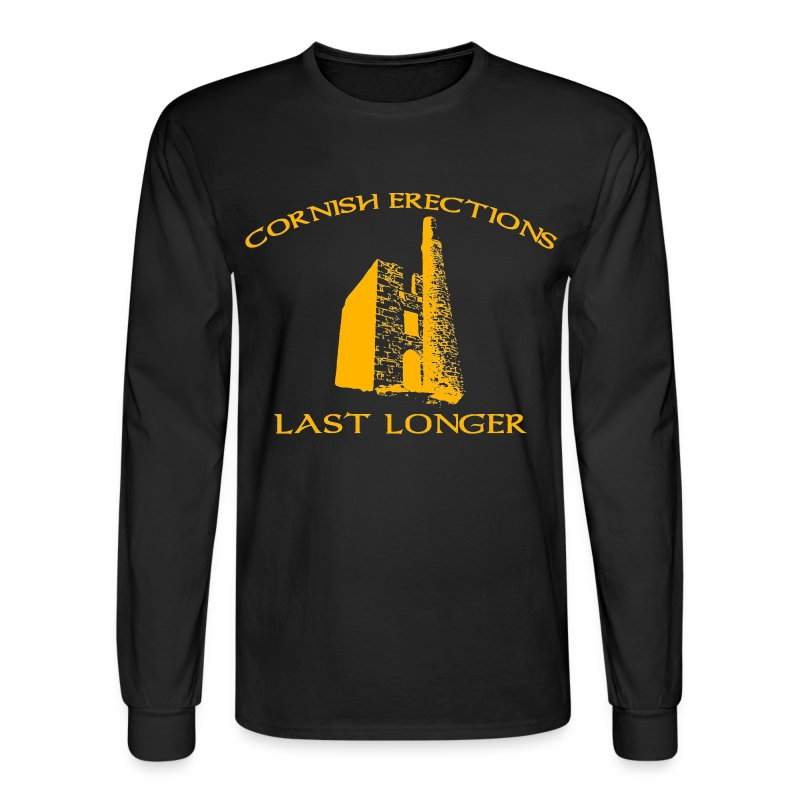 Cornish Last Longer - Men's Long Sleeve T-Shirt
