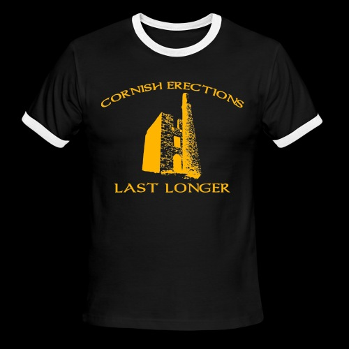 Cornish Last Longer - Men's Ringer T-Shirt