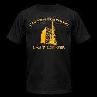 T-Shirts ~ Men's T-Shirt by American Apparel ~ Cornish Last Longer