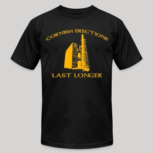 Cornish Last Longer - Men's T-Shirt by American Apparel