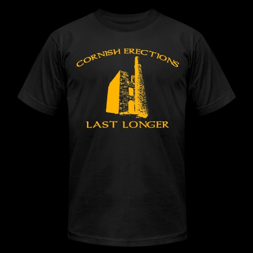 Cornish Last Longer - Men's Fine Jersey T-Shirt
