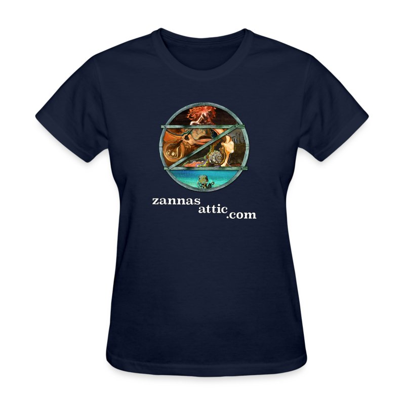 Zanna's Attic: Womanly Tee! - Women's T-Shirt
