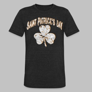 Saint Patrick's Day - Unisex Tri-Blend T-Shirt by American Apparel