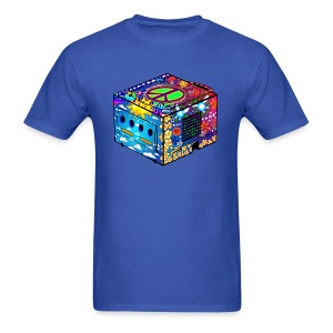 Hippie Gamecube (manly fit) - Men's T-Shirt