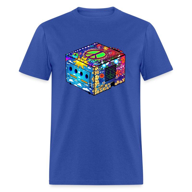 hippie gamecube t shirt spreadshirt. Black Bedroom Furniture Sets. Home Design Ideas