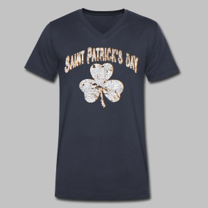 Saint Patrick's Day - Men's V-Neck T-Shirt by Canvas