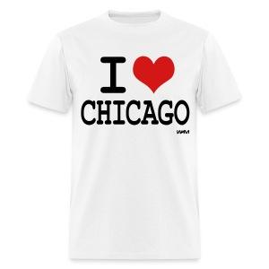 I Love Chicago - Men's T-Shirt