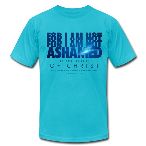 Not Ashamed   - Men's  Jersey T-Shirt