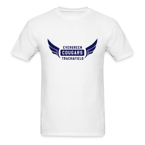 Track Field with wings - Men's T-Shirt