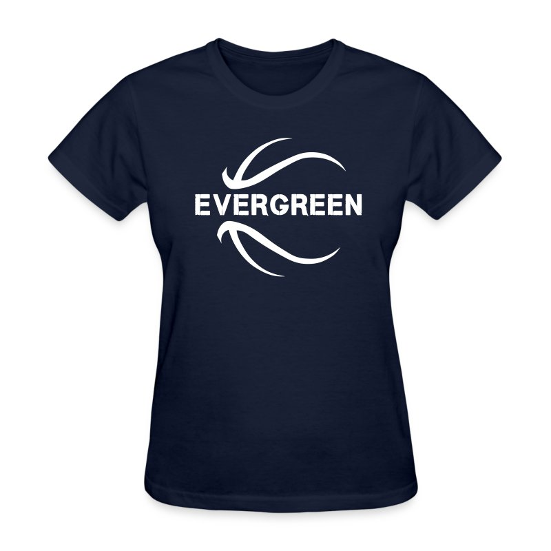 Evergreen basketball - Women's T-Shirt