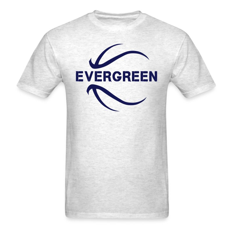 Evergreen basketball - Men's T-Shirt