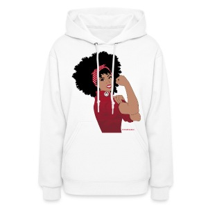 Naturally Revolutionary: red - Women's Hoodie