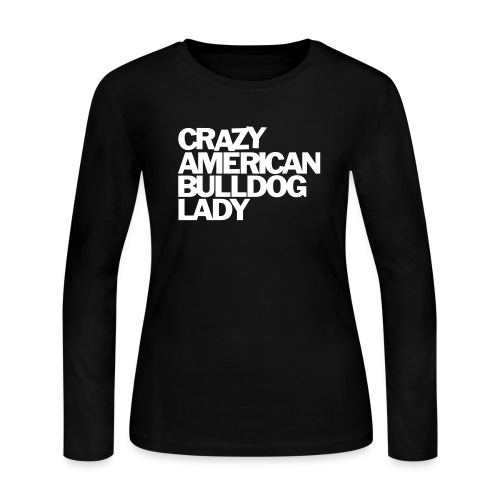 american-bulldog - Women's Long Sleeve Jersey T-Shirt