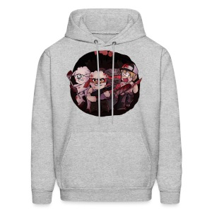 Crysm as Left 4 Dead 2 (blood) - Men's Hoodie