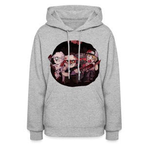 Crysm as Left 4 Dead 2 (blood) - Women's Hoodie