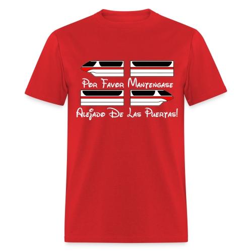 Monorail Por Favor - Men's T-Shirt