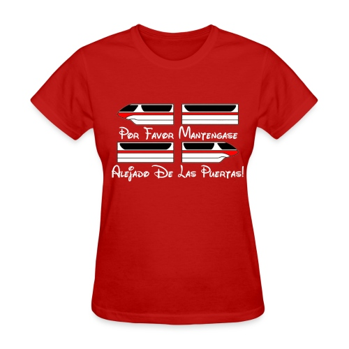 Monorail Por Favor - Women's T-Shirt