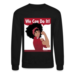 Naturally Revolutionary: red - Crewneck Sweatshirt