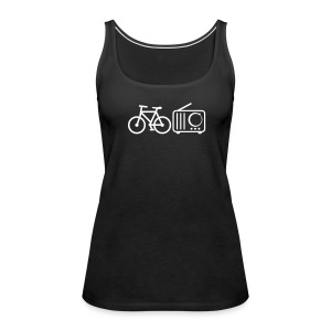 Cycles Radio minimal women's tank - Women's Premium Tank Top
