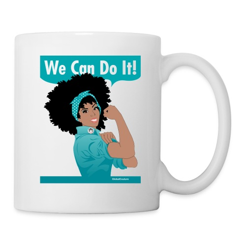 Naturally Revolutionary: teal - Coffee/Tea Mug