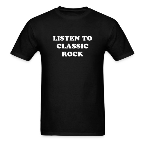 CLASSIC ROCK - Men's T-Shirt